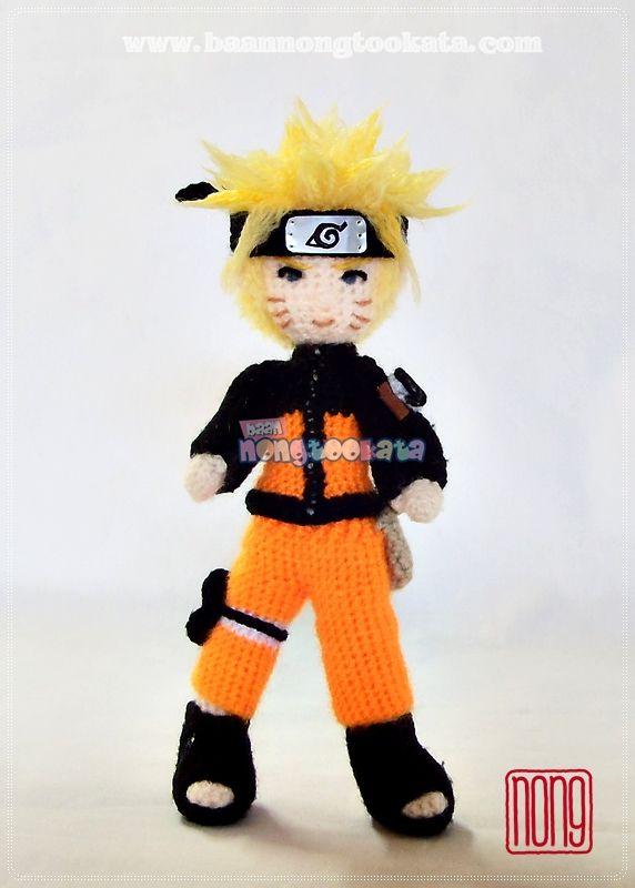 Naruto Uzumaki · A Ninja Plushie · Crochet on Cut Out + Keep ... | 800x572