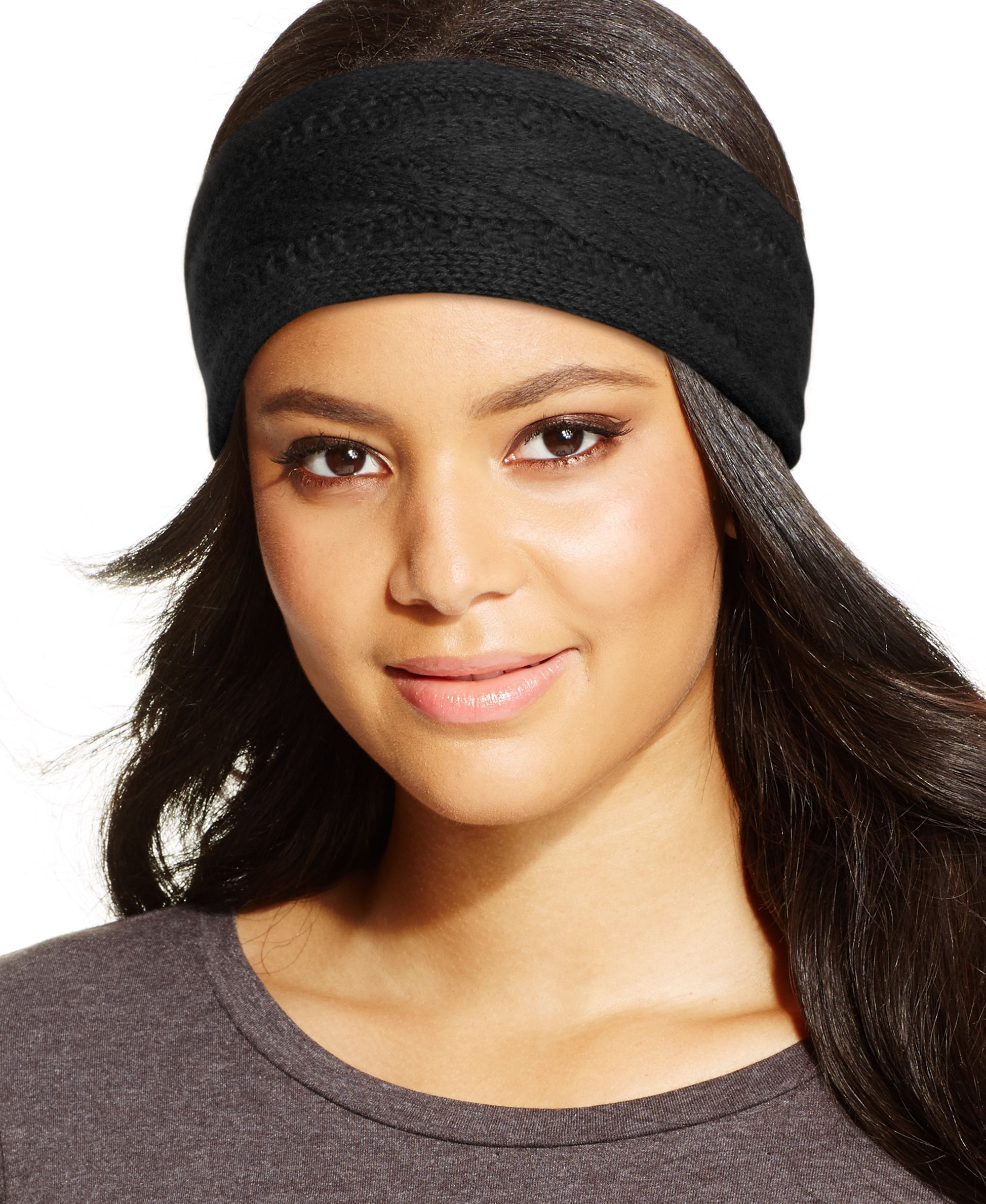 816d1193624f1 Charter Club Cashmere Cable Knit Headband