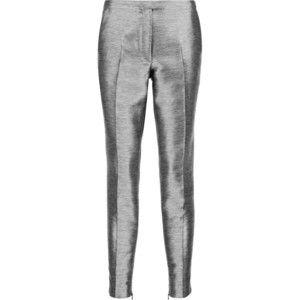 Iris and Ink Bernadette metallic jacquard tapered pants