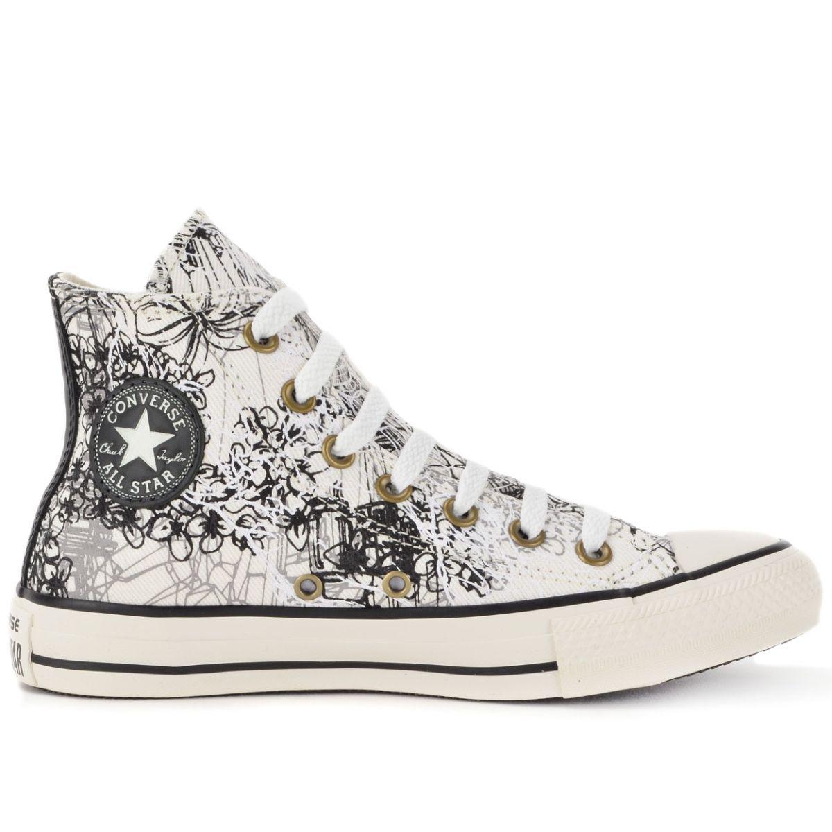 52e0db831b1 Tênis Converse All Star CT As Hi Amendoa Preto CT03000001