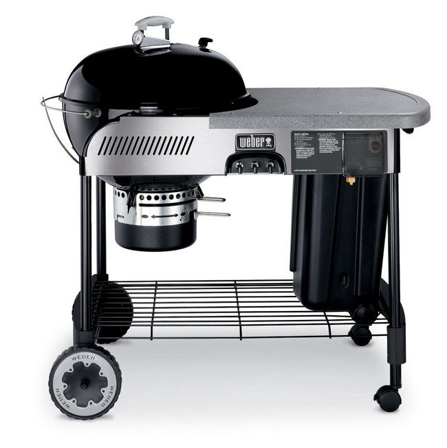 Weber Charcoal Grill Performer Platinum Series For The Hubby Charcoal Bbq Cooking With Charcoal Charcoal Grill