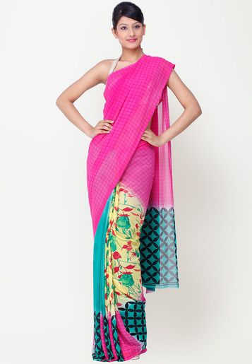 #Saree - #SAREES - #jabongworld #indianethnic #ethnic #indiansaree indian ethnic #Chhabra555