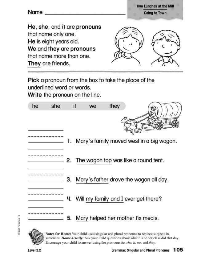 Grammar Singular And Plural Nouns Worksheet Nouns Worksheet Nouns Tricky Words Possessive nouns worksheets grade