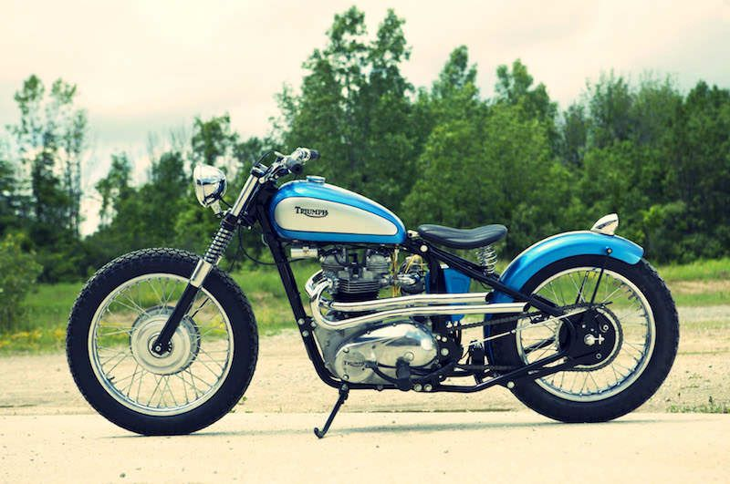 Vintage Triumph Motorcycles - The eBay Collection