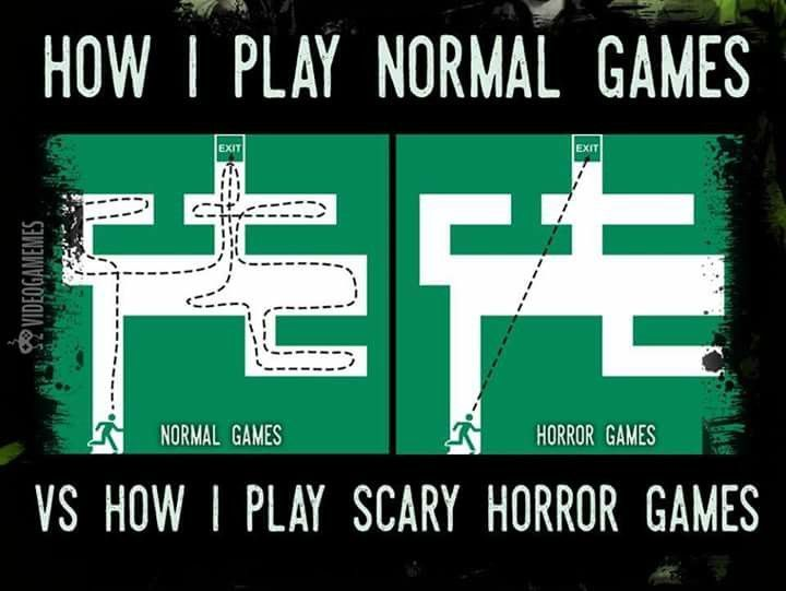 how to play scary games