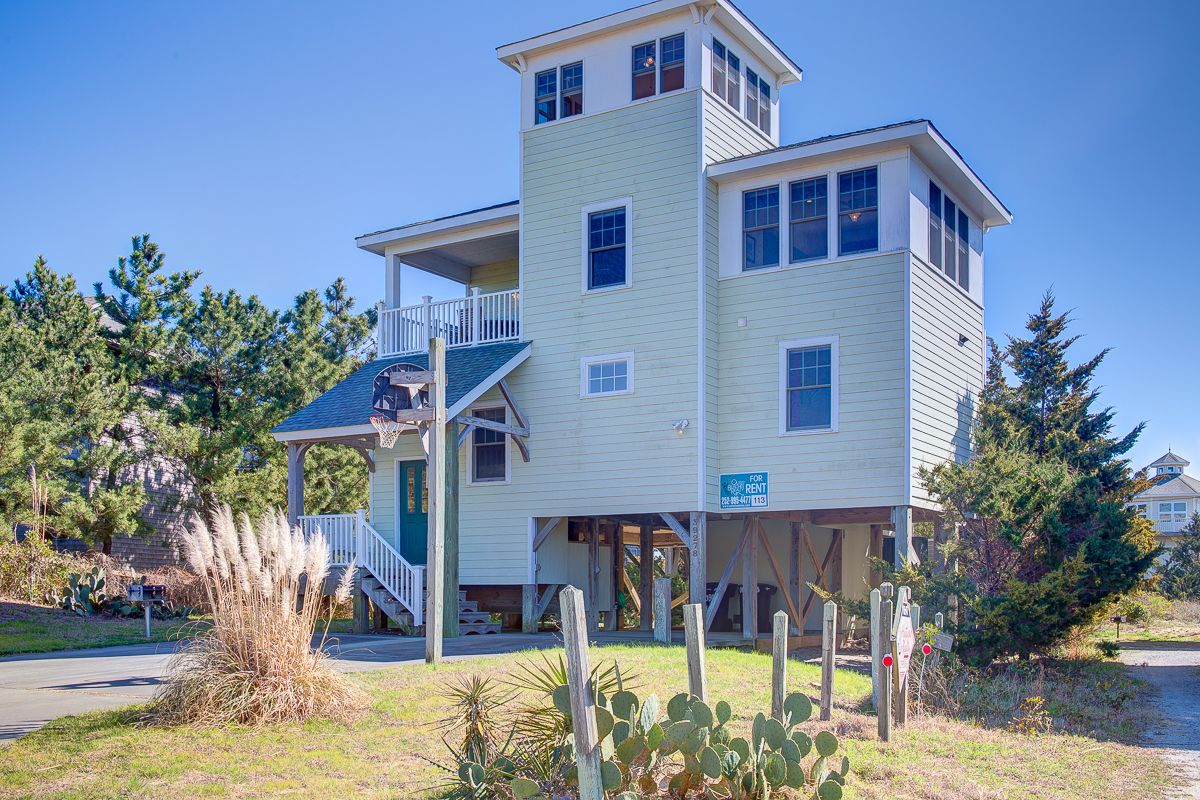 outer banks serenade bedroom vacation rentals house outerbeaches cottages salvo sunset soundfront pin obrrentals