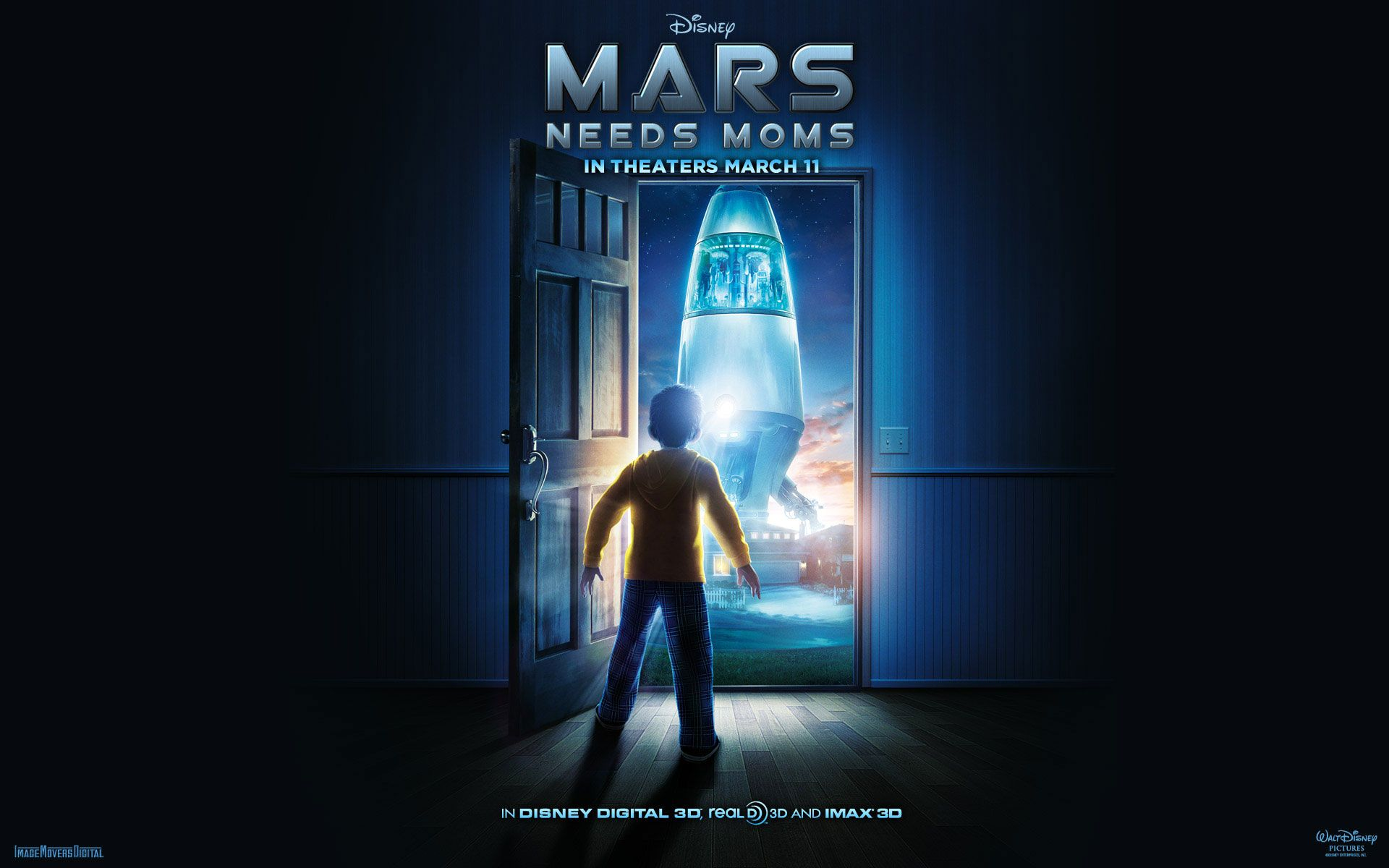 Watch Streaming HD Mars Needs Moms, starring Seth Green, Joan Cusack, Dan Fogler, Elisabeth Harnois. A young boy named Milo gains a deeper appreciation for his mom after Martians come to Earth to take her away. #Animation #Action #Adventure #Comedy #Family #Sci-Fi http://play.theatrr.com/play.php?movie=1305591