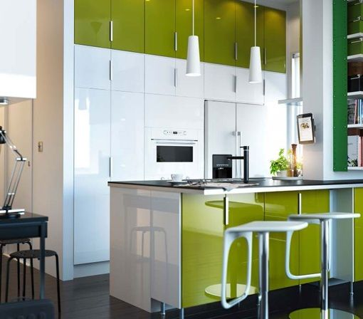 nice Idée relooking cuisine - Vert anis et brillant Check more at