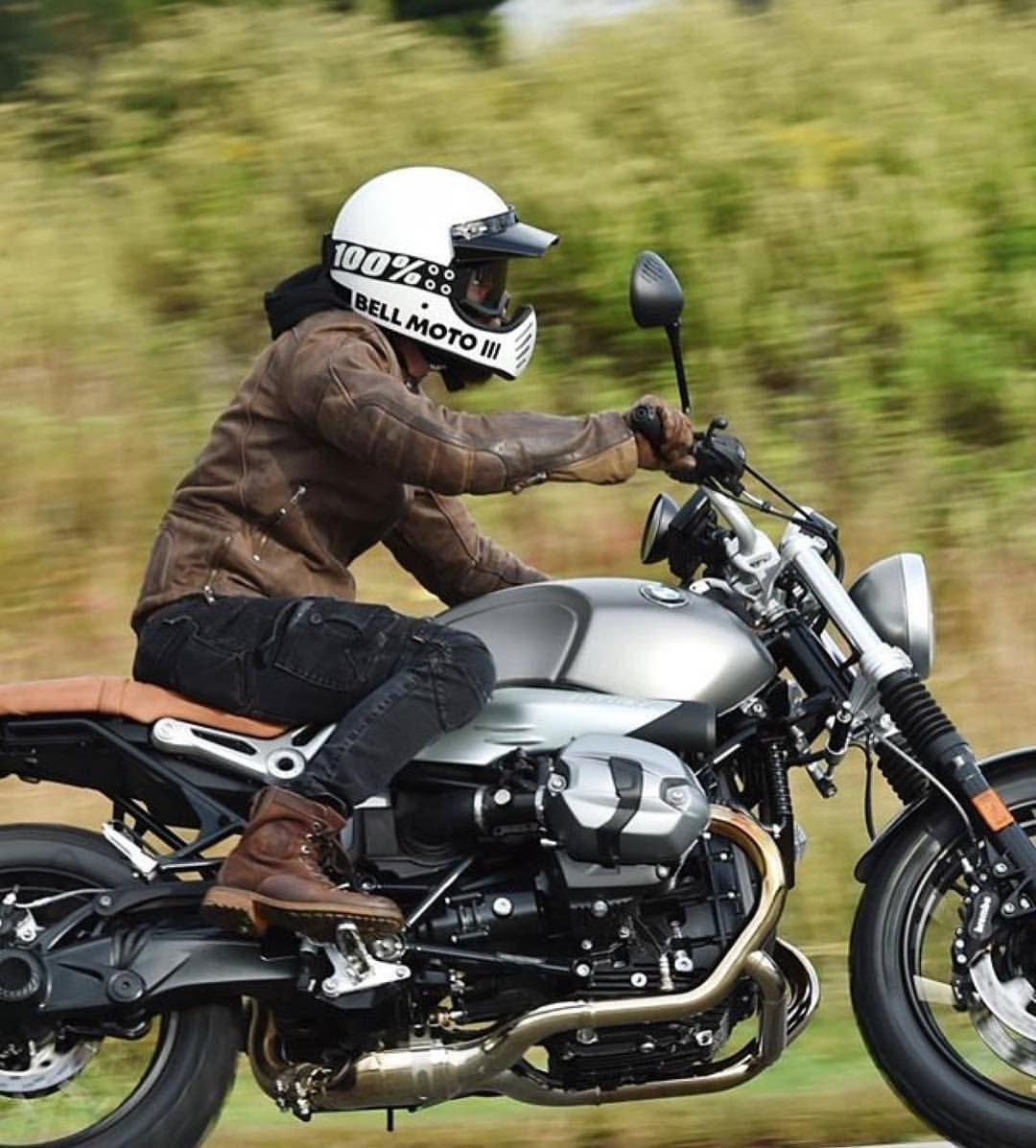 uglybros motorpool riding jeans, bell moto3 helmet and 100