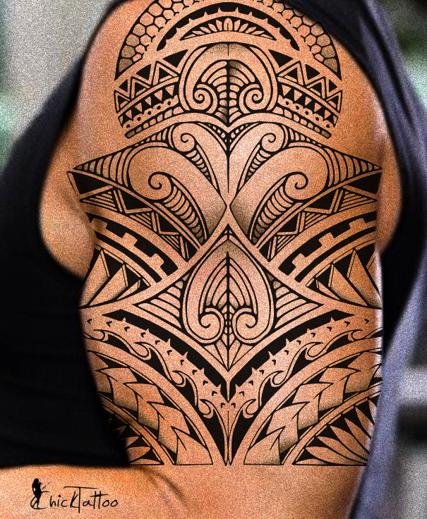 ChickTattoo Designer Samoantattoos Polynesian tattoo