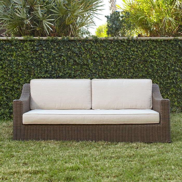 Birch Lane Montclair Wicker Sofa | Birch Lane · Traditional FurnitureBirch  LaneOutdoor ...
