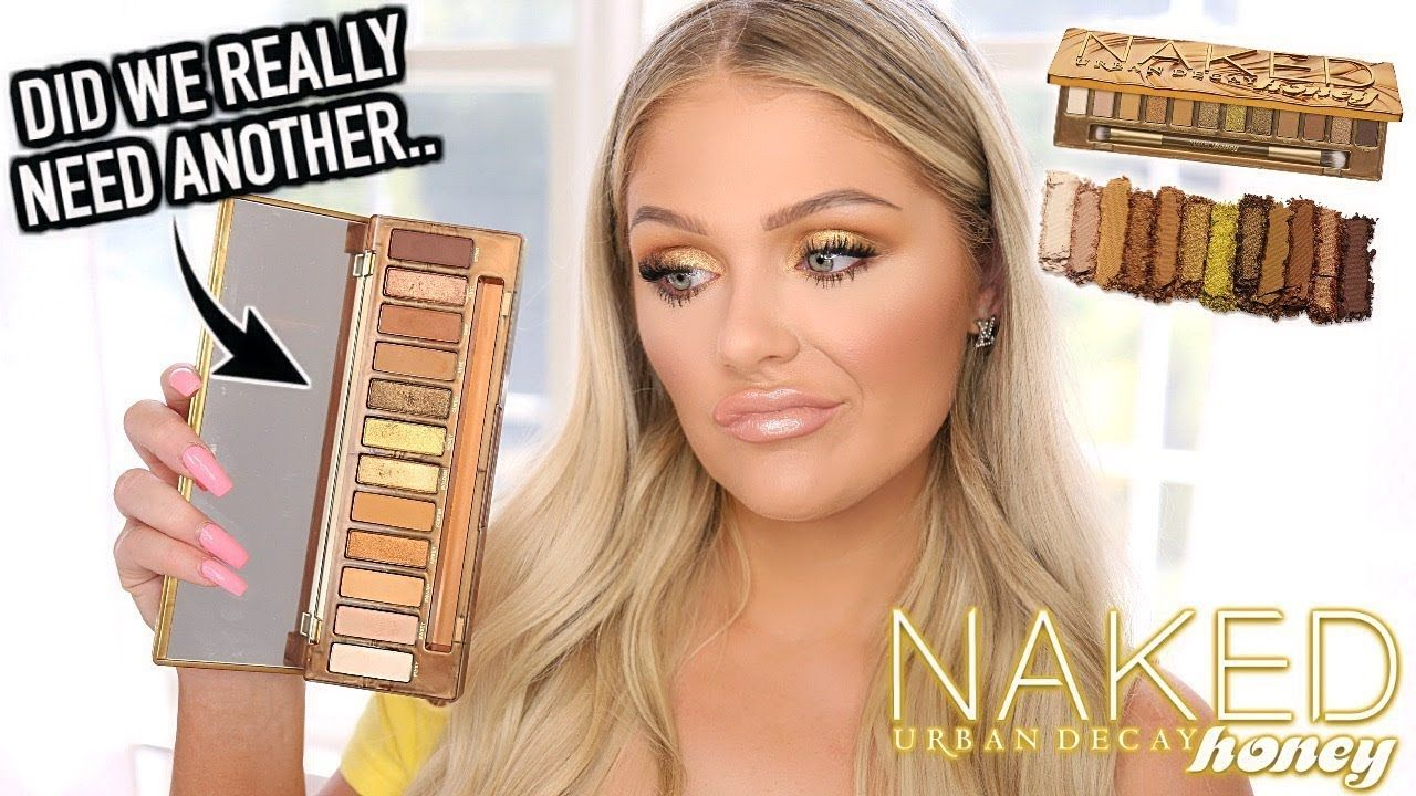 Urban Decay Naked Honey Palette Review + Tutorial - YouTube