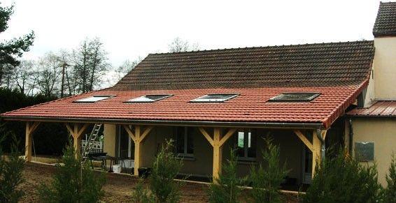 Construire Une Terrasse Couverte Simple Fabriquer Sa Terrasse ...