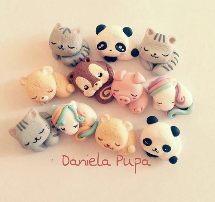 Image of: Porcelana Fria Arcilla Kawaii Pinterest Arcilla Kawaii Kawaii Items Polymer Clay Clay Cute