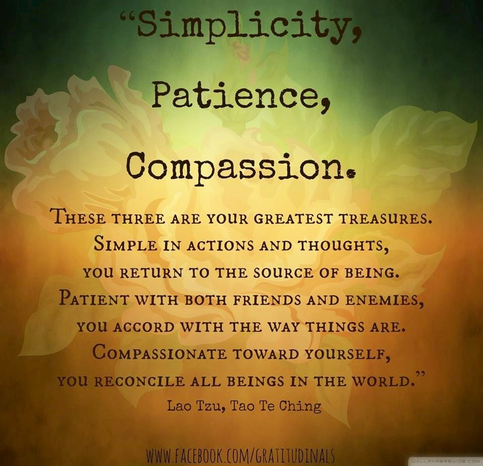Simplicity Patience Compassion Buddha Quote Via Facebook