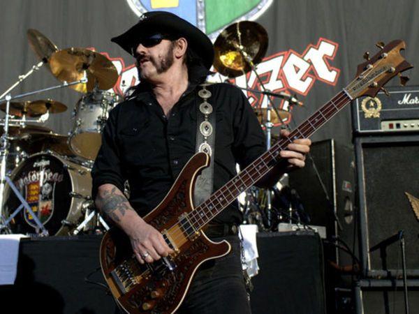 Lemmy Kilmister's Rickenbacker Lemmy Kilmister Signature