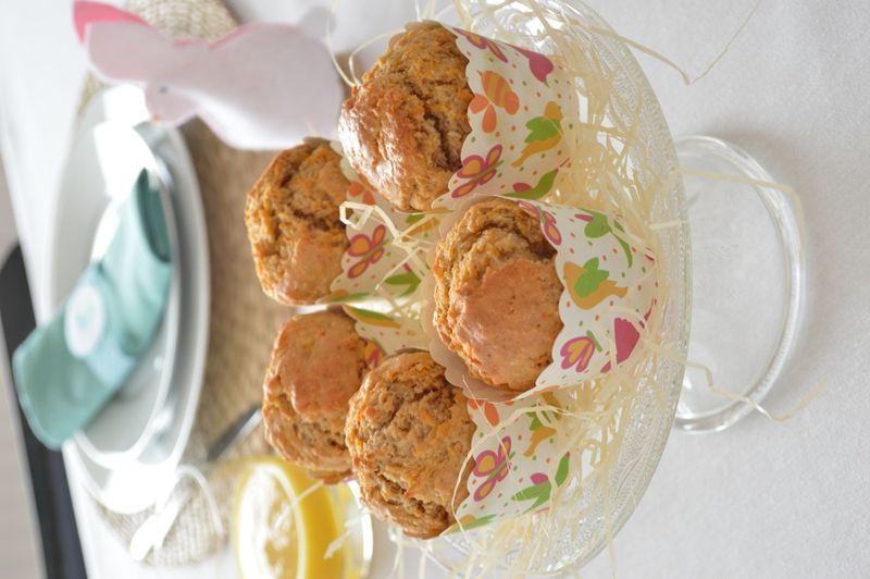 Wortel kokosmuffins