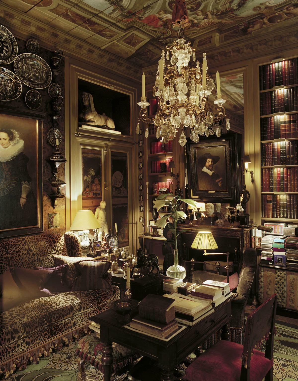 Fran ois joseph graf un appartement paris victorian Formation decoration interieur paris
