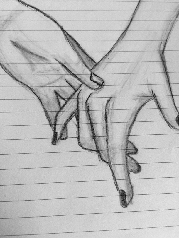 black, draw, drawing, drawings, hands, holding, holding hands ...