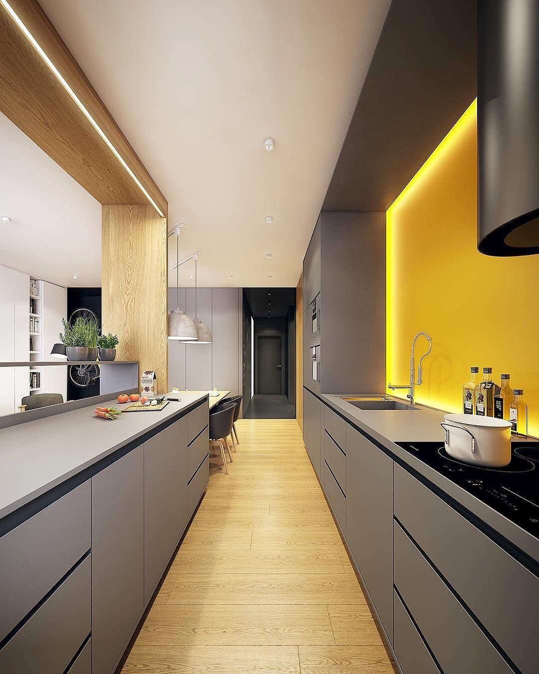 His Is A Stylish Apartment Interior Design Visualized By