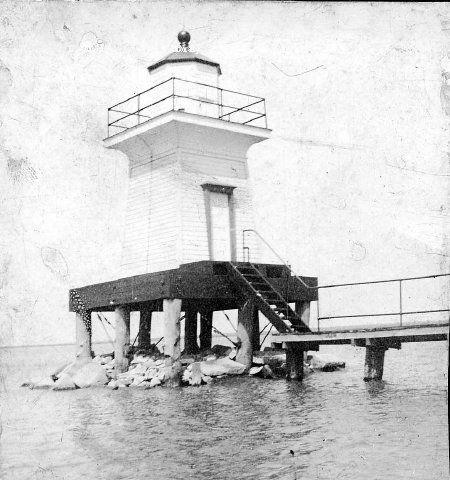 Range Light North Of Mama Juda Island Lighthouse On The Detroit