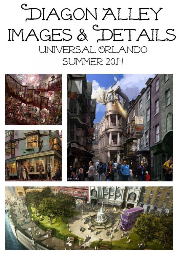 Inside Scoop Harry Potter And The Escape From Gringotts And New Diagon Alley Images Universal Studios Universal Orlando Und Universal Studios Florida