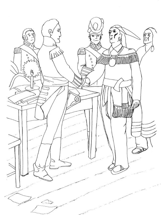 french and indian war coloring pages | french and indian war Colouring Pages | Veterans day ...