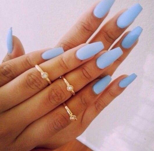 capsule avec gel bleu ciel nails pinterest manucure ongles et ongles ete. Black Bedroom Furniture Sets. Home Design Ideas