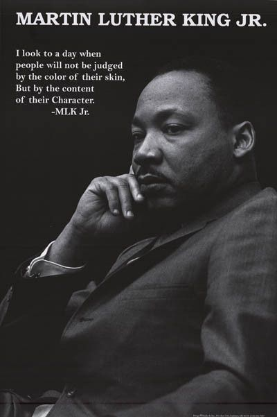 Martin Luther King Jr Character Quote Poster 24x36 King Quotes Mlk Quotes Martin Luther King Jr Quotes