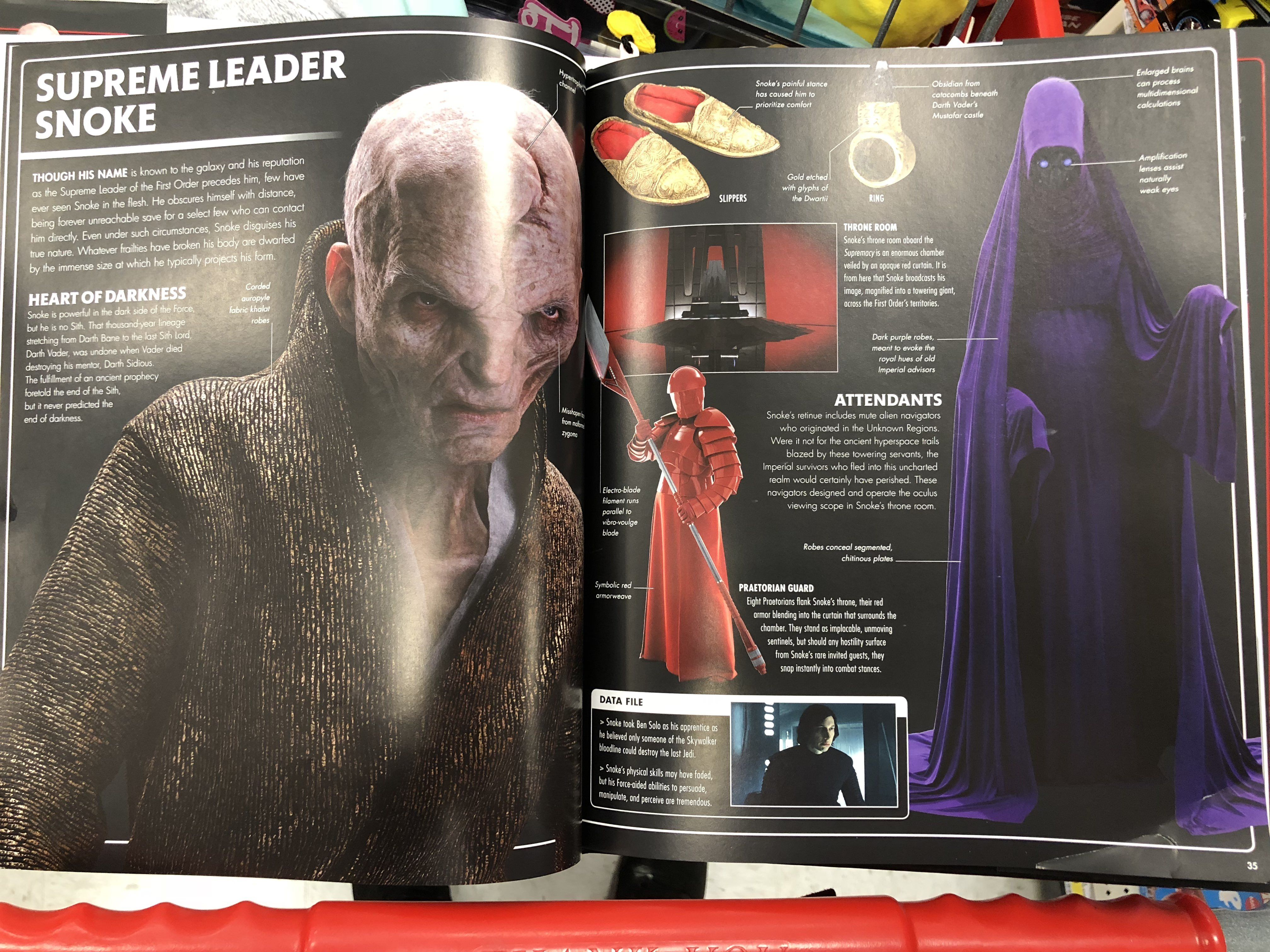 The Last Jedi Visual Dictionary Snoke And Kylo Ren Imgur Star Wars Theories Last Jedi Star Wars Sith