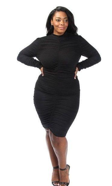 Body Contouring BodyCon Plus Dress