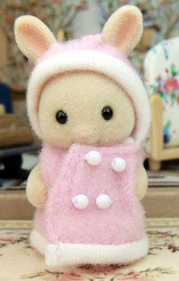 Milk Rabbit Baby Sylvanian Rabbit Baby Sylvanian