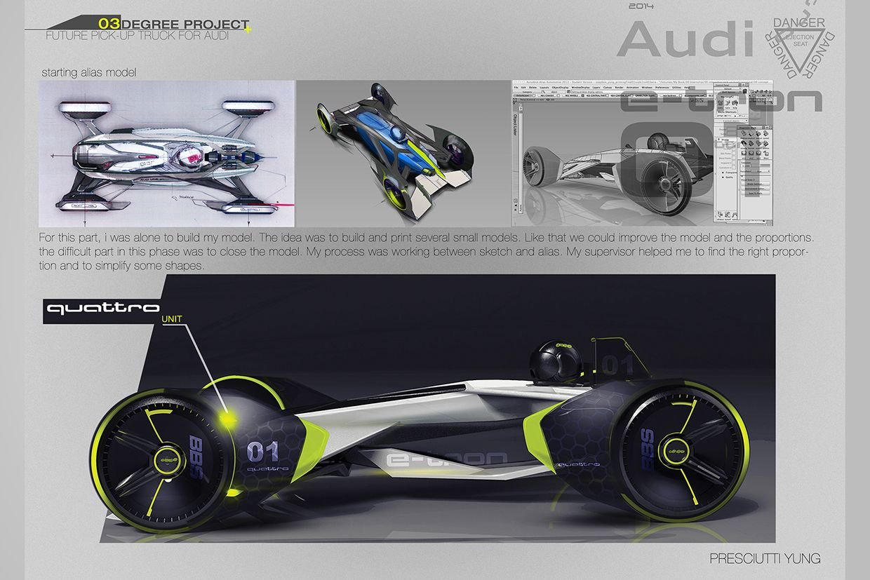 AUDI Electric Soapbox Degree project on Behance