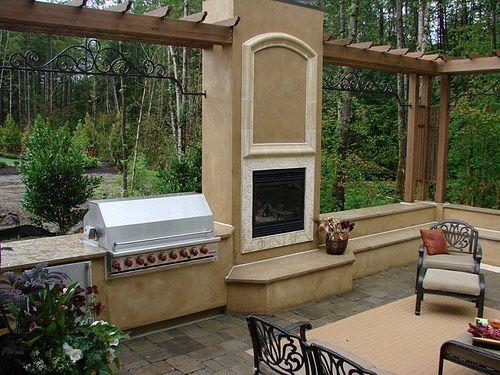 House Ideas Outdoor Kitchen Dream Patio Outdoor Furniture Decor