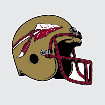 Florida State Seminoles Football Helmet Clipart Free Clipart Football Helmets Football Florida State Seminoles Football