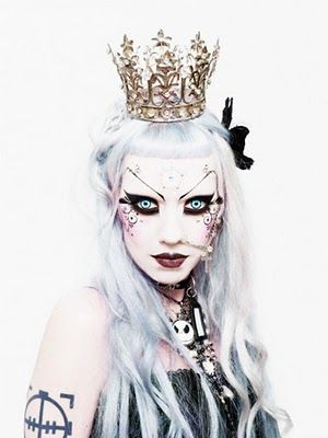 Cues Of Notion Day 16 Adora Batbrat Adora Batbrat Queen Makeup Porcelain Doll Makeup She is mostly known for being a perky goth. pinterest