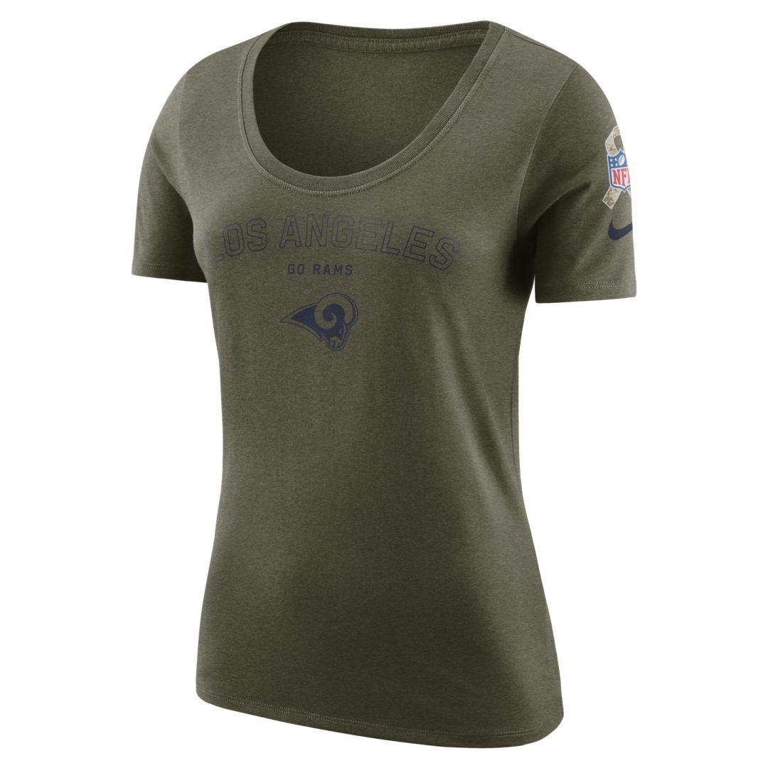rams women's t shirts