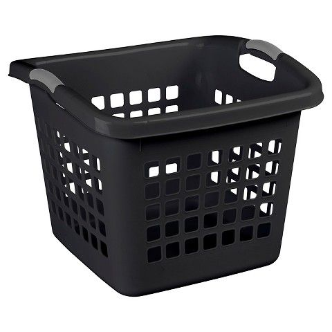 Sterilite 1 75 Bu Laundry Basket White Laundry Basket