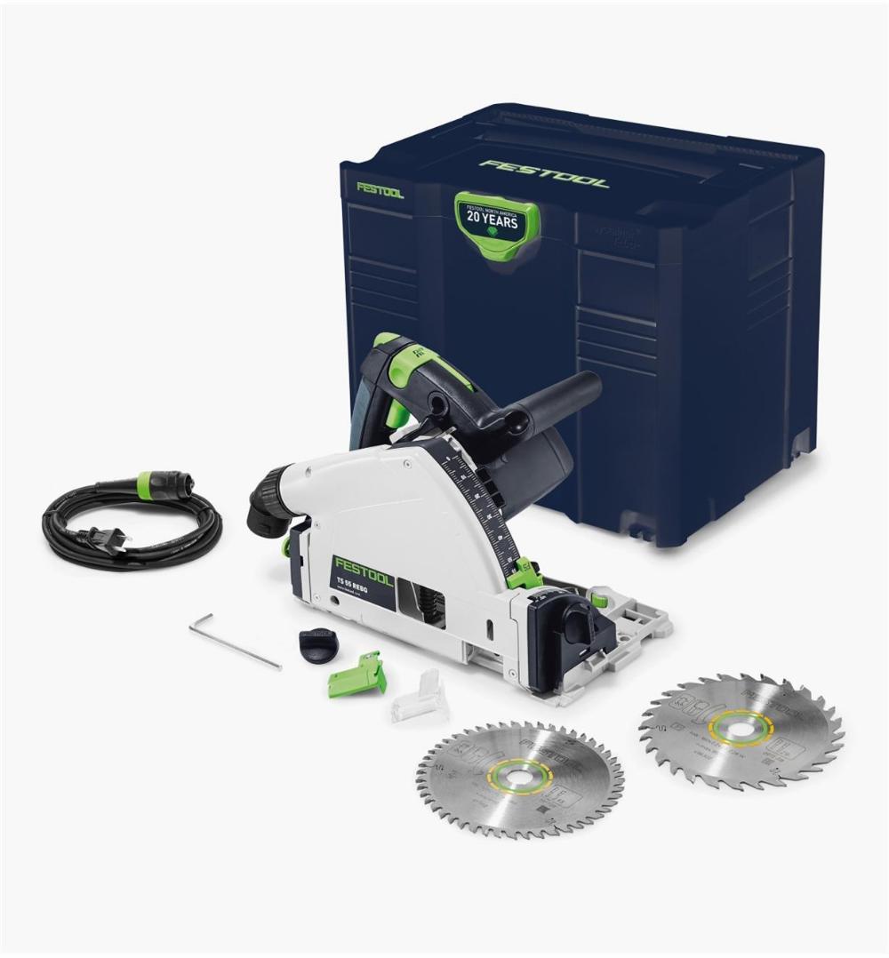 Festool Emerald Edition Ts 55 Req Track Saw Laminate Flooring Circular Saw Festool