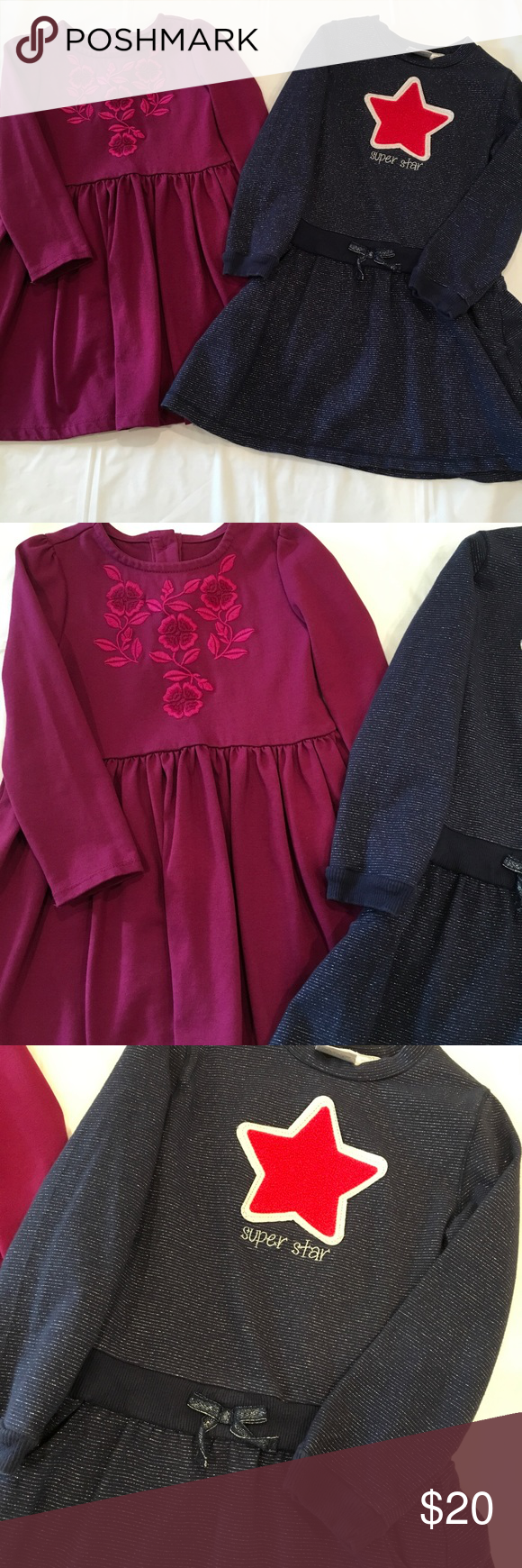Long Sleeve 5t Dresses 2 Long Sleeve 5t Dresses In Excellent Condition Beautiful Deep Maroon Wine Color D Wine Colored Dresses Clothes Design Fashion Design [ 1740 x 580 Pixel ]