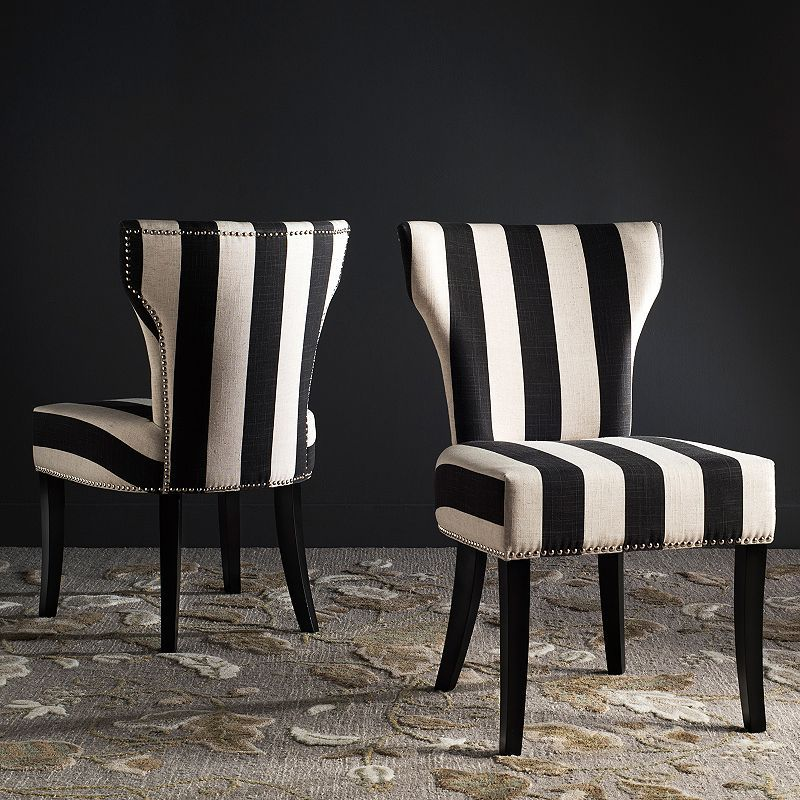 Safavieh Striped Accent Chair 2 Piece Set In 2018 Products