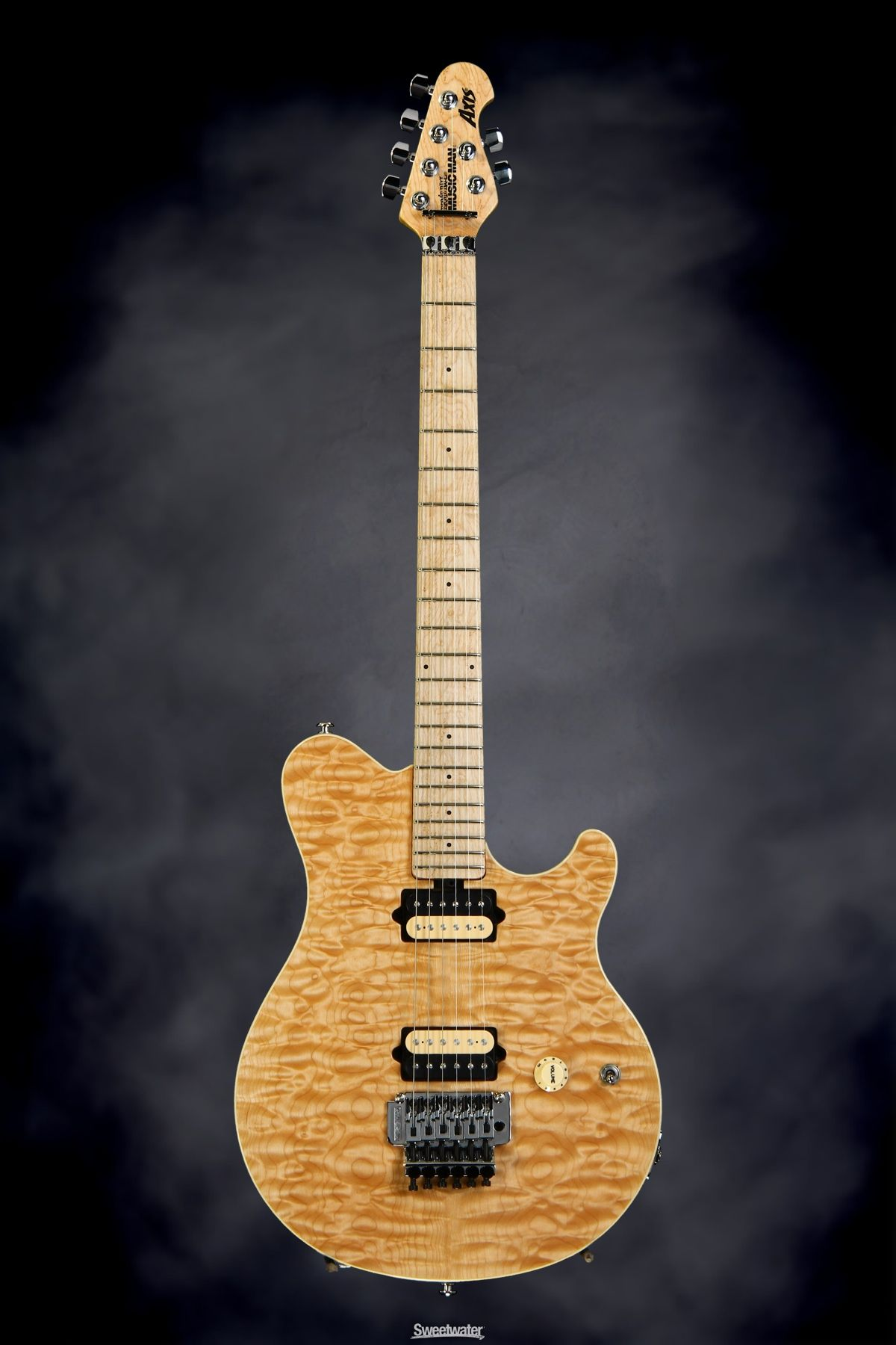 Ernie Ball Music Man Stingray Rs Vintage Sunburst Electric Guitar Floyd Rose Cool Guitar