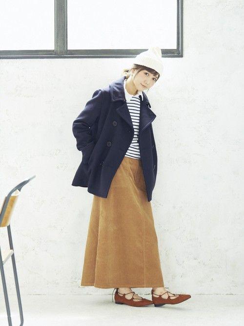 先日トップサイダーさんの新作ウールコートの撮影をしたよ〜✨ シンプルなシルエットでどんなコーデにも合