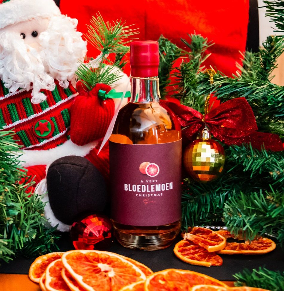 Win A Bottle Of Bloedlemoen Gin Limited Release Bloedlemoen Christmas Gin Christmas Gin Bottle Christmas