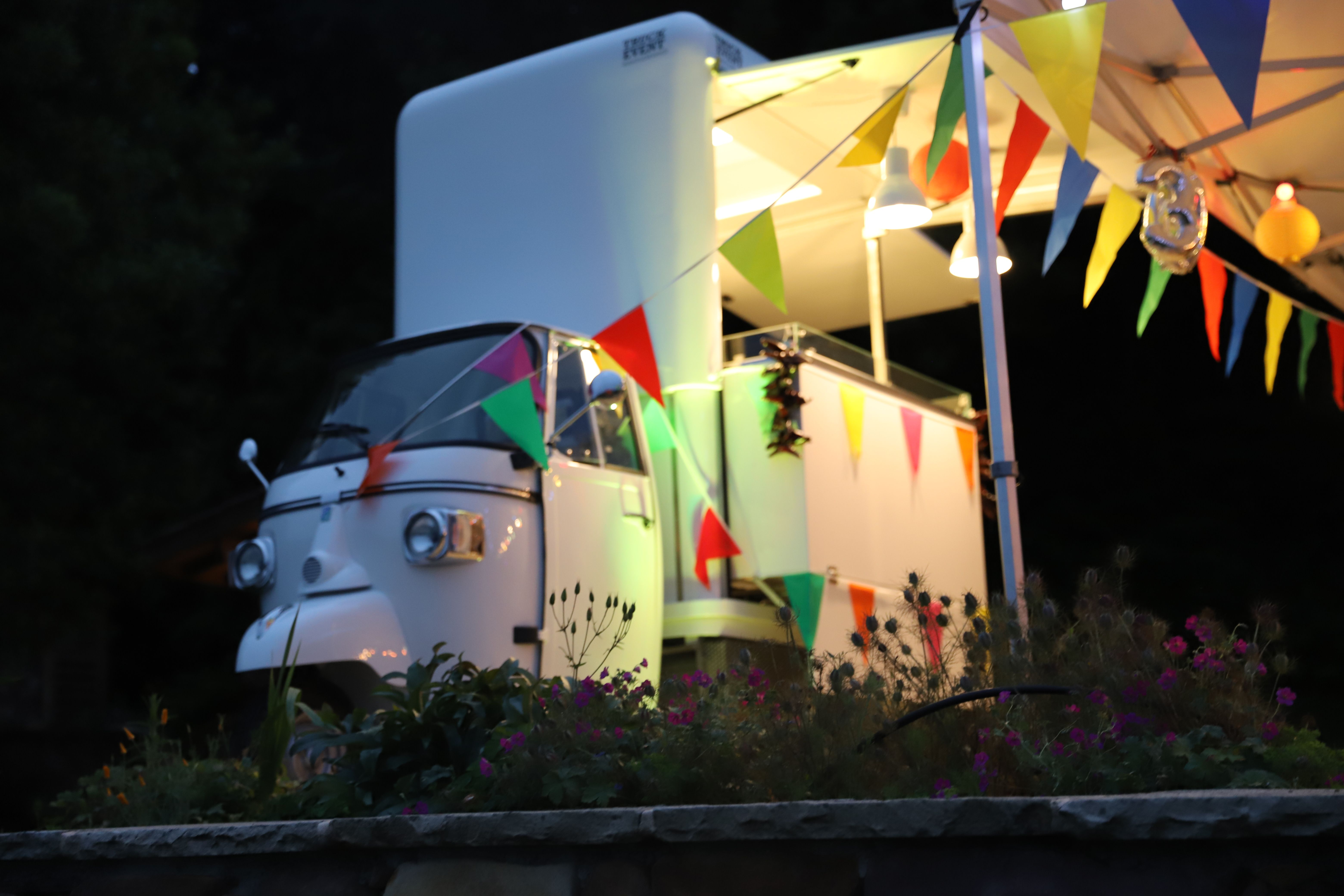 Food truck rental for birthday party on the french riviera