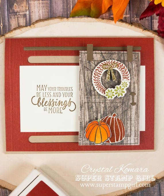 picture  slider cards christmas cards handmade barn