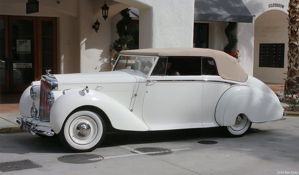 1949 Bentley Mark Vi Park Ward Drop Head Coupe