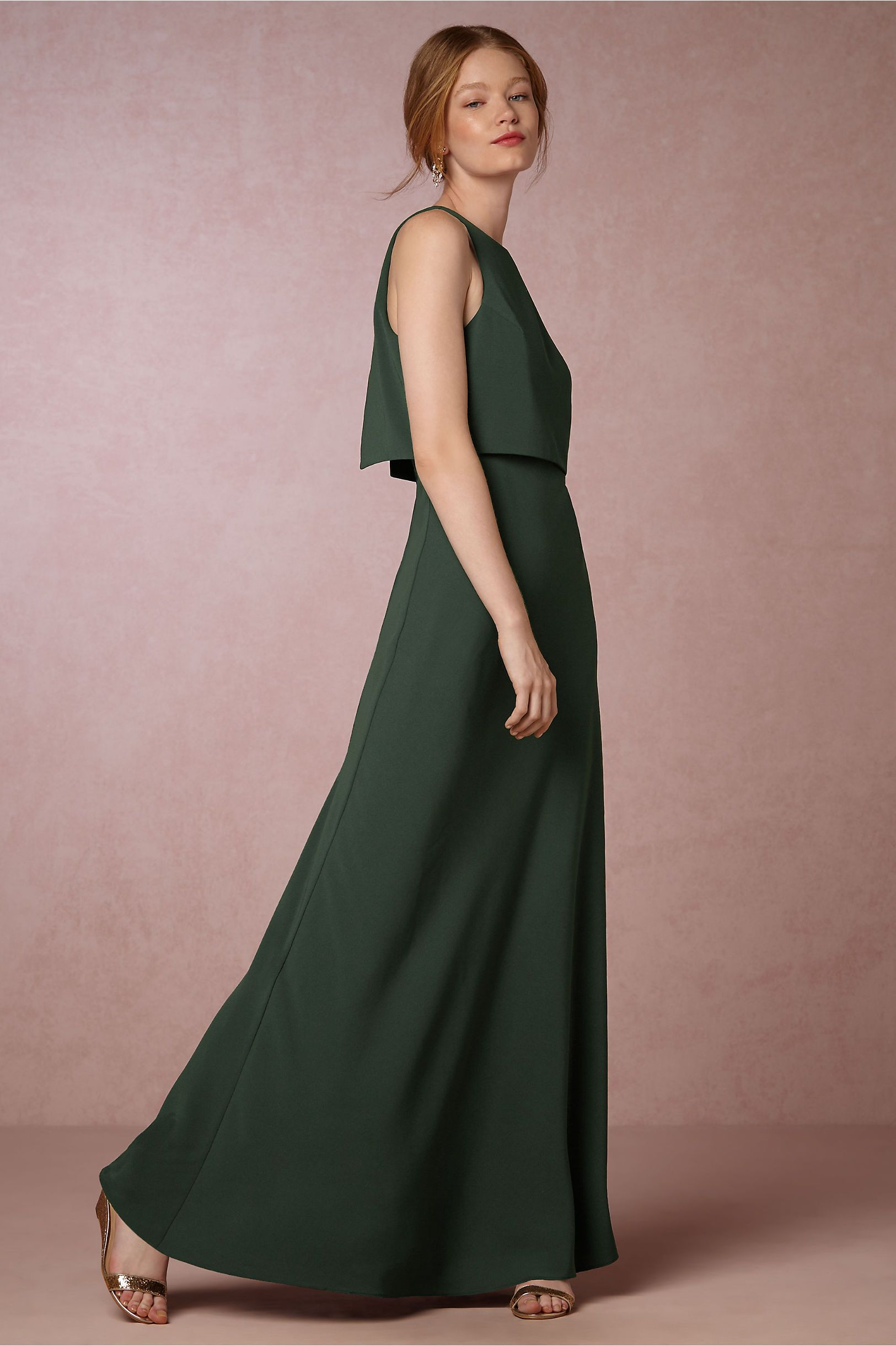 28276cf0923 emerald green long bridesmaid dress