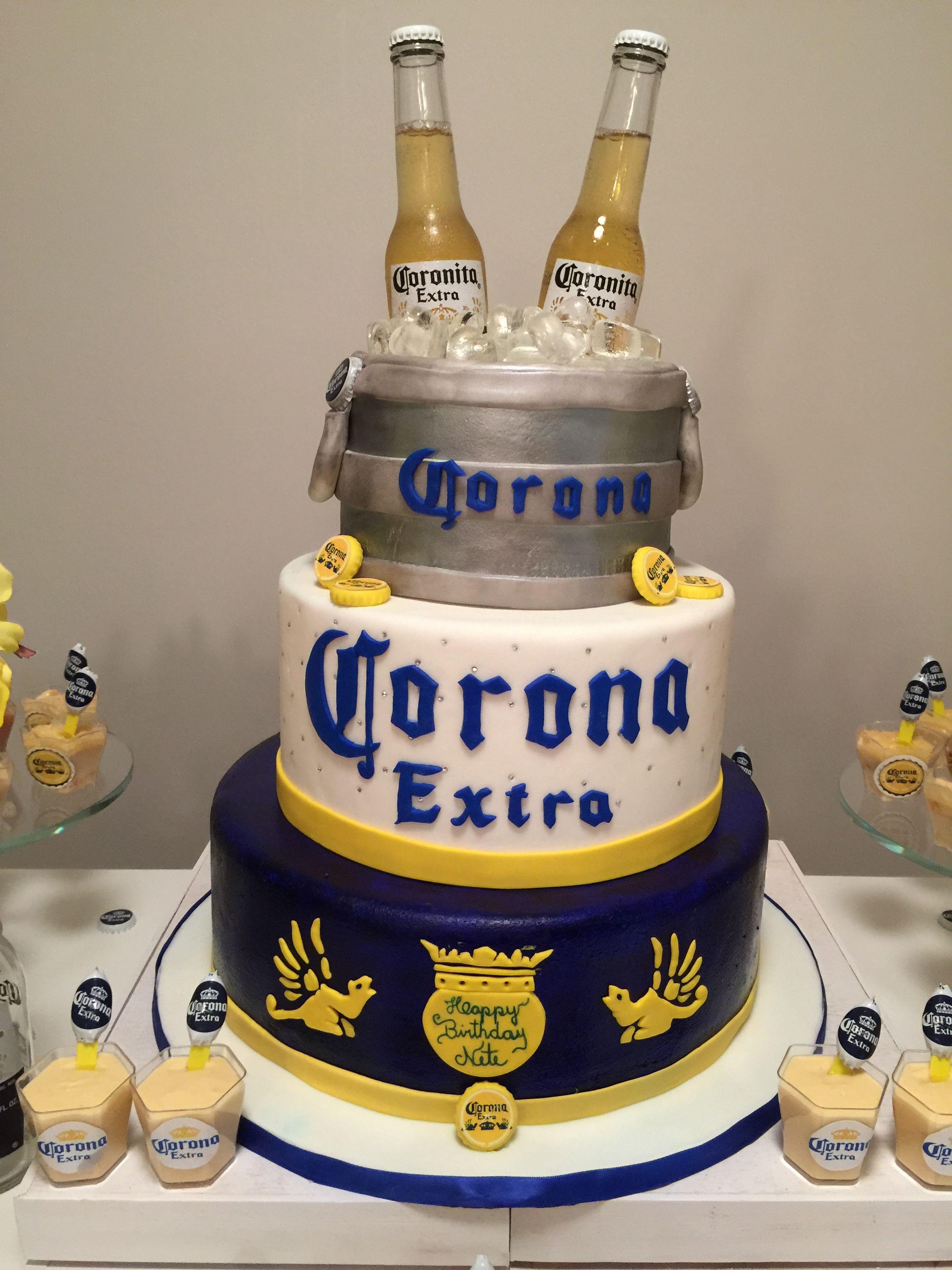 Corona Corona Cake Beer Cake Birthday Beer Cake