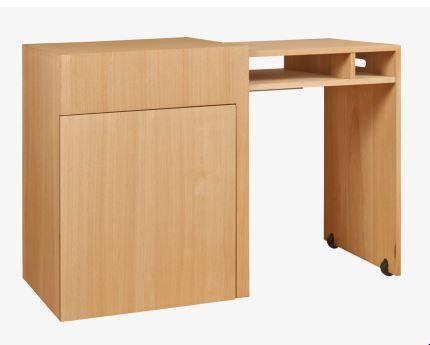 Dogo bureau à rallonges en chêne meubles pas cher bureau